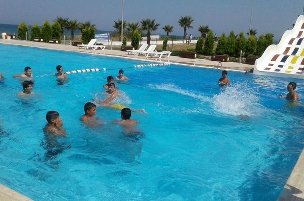 Öğrenciler kampta tatilin keyfini çıkardı