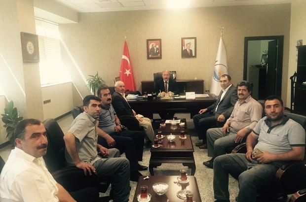 Başkan Berge'den Genel Sekreter Yardımcısı Tamer'e teşekkür