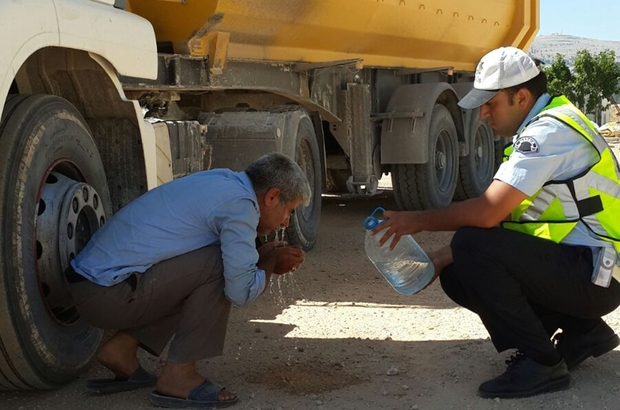 """Mut'ta """"Karayolu Trafik Güvenliği Stratejisi ve Eylem Planı"""" uygulaması"""