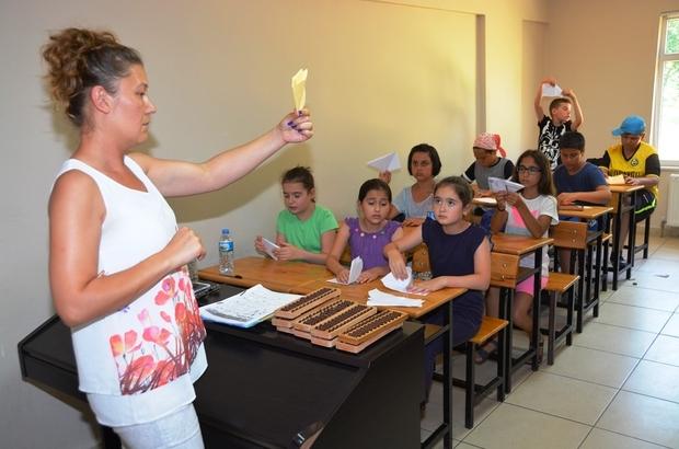 Süleymanpaşa Belediyesinden Süleymanpaşalı çocuklara Mental Aritmetik dopingi