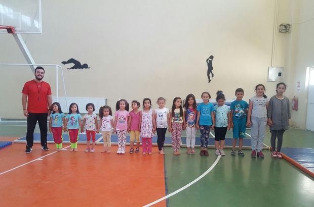 Pazarlar'da yaz spor okulu açıldı
