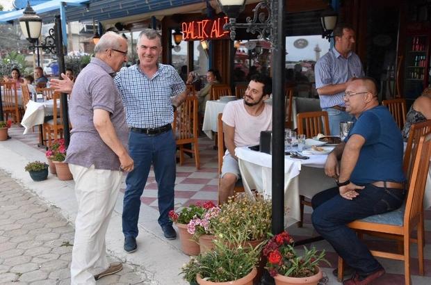 Albayrak Süleymanpaşa'da vatandaşlarla buluştu