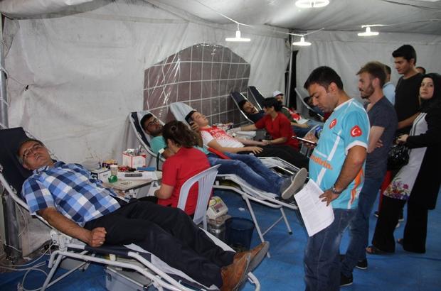 Kızılay'a iki günde 270 ünite kan bağışı yapıldı