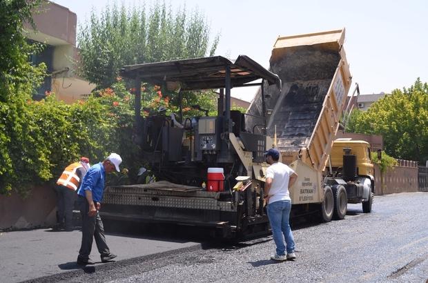 Batman'a 2 ayda 40 bin ton asfalt serildi