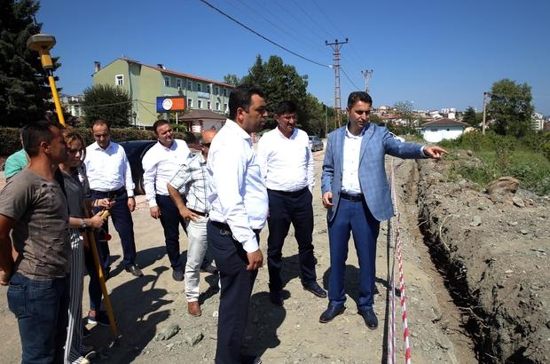 Tokat'ta kanal güzelleştirme çalışmalarında sona gelindi