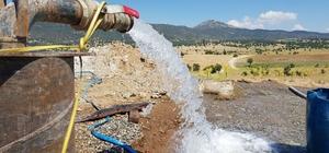 Karakozan'ın su sorunu ortadan kalkıyor