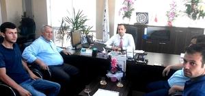 Esnaf UDEAŞ'ı ziyaret etti
