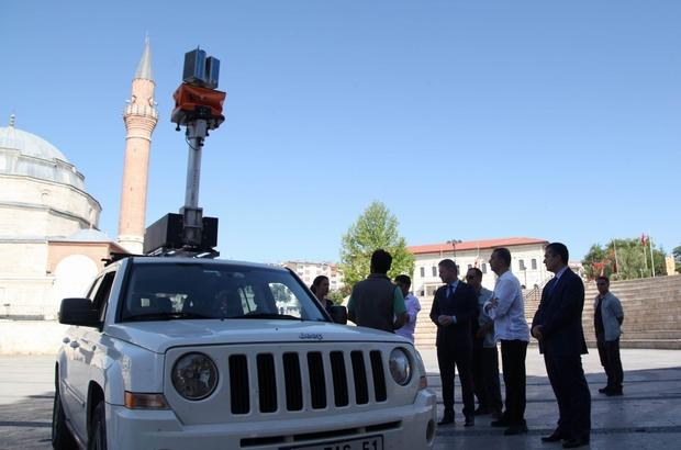 Sivas'taki tarihi eserler ışıklandırılıyor