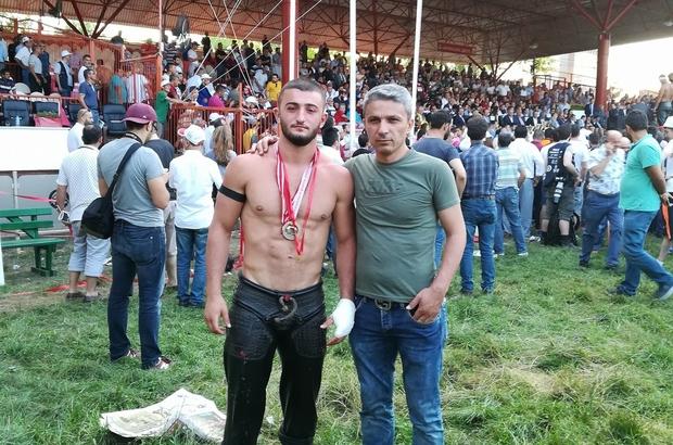 Trakya Birlik Spor Kulübü'ne madalya Abdülbaki Kara'dan geldi