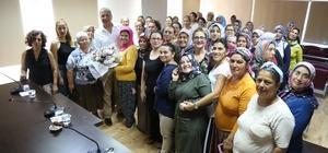 Kadınlardan Mezitli Belediyesi'ne destek