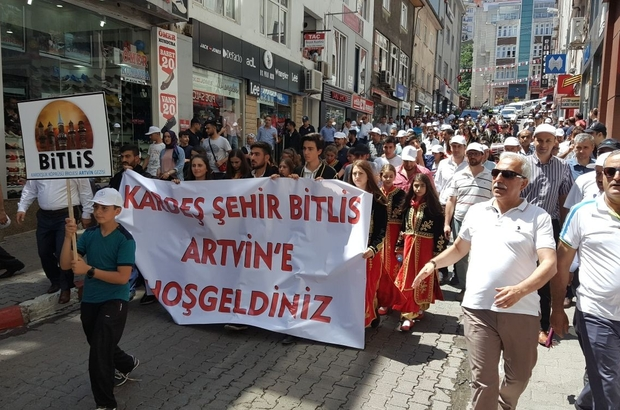 Bitlislilerden Artvin'e 'kardeşlik' gezisi