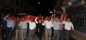 Arapgirliler 15 Temmuz'da meydanları doldurdu