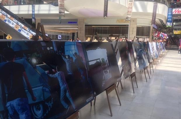 Nata Vega'da 15 Temmuz sergisi açıldı