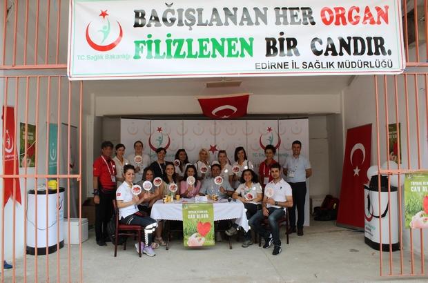 Kırkpınar'da 70 kişi organ bağışında bulundu