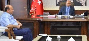 Başkan Özakcan'dan Vali Köşger'e ziyaret