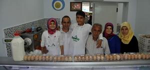 Bozdoğan'da hastalıktan ari süt işletmesi açıldı