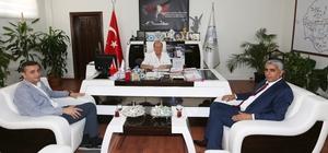 BİL ve AFAD İl Müdürlerinden Başkan Özakcan'a ziyaret