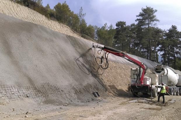 Kıbrıs Barajı'nda çalışmalar devam ediyor
