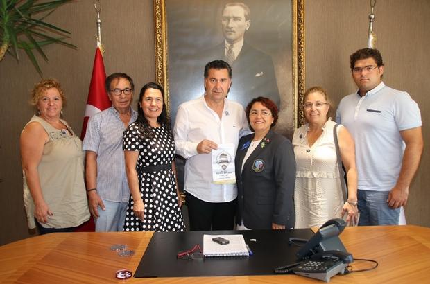 Karia Rotary Yeni Dönem Başkanından Başkan Kocadon'a ziyaret