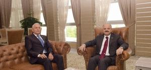 Eskişehir Valisi Özdemir Çakacak Rektör Gönen'i ziyaret etti