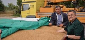Başkan Yağcı, çiftçileri ziyaret etti