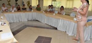 Mersin'de belediye çağrı merkezi personeline etkili iletişim eğitimi