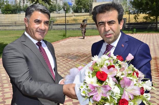 Vali Güzeloğlu, DTB Başkanı Yeşil'den brifing aldı