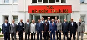 Siyasi parti il başkanlarından Vali Büyükakın'a ortak ziyaret
