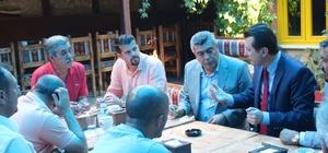 AK Parti Odunpazarı İlçe Başkanı Doğan, Emirdağlı hemşerileriyle bir araya geldi