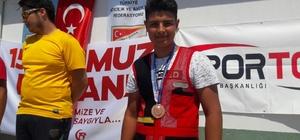 Yeşil-beyazlı sporcu Bursa'dan madalyayla döndü