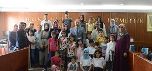 İnegöl Belediyesi yetim çocukları ve ailelerini misafir etti