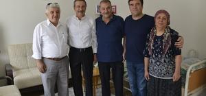 Başkan Ataç'tan geçmiş olsun ziyareti