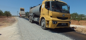 Bozova kırsalına 130 kilometrelik asfalt