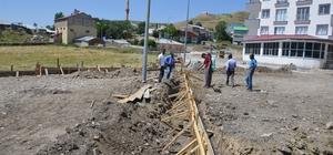 Çat Belediye Başkanı Kılıç, ilçede altyapı seferberliği başlattı