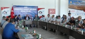Vali Zorluoğlu, OSB yönetimi ile bir araya geldi