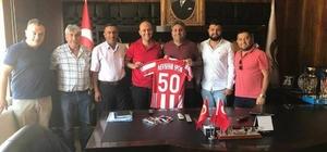 Çat Belediye Başkanı Duru'dan Nevşehirspora destek
