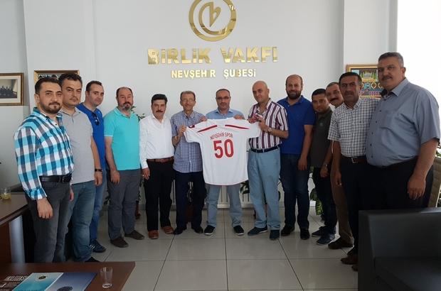 Birlik Vakfı'ndan Nevşehirspora destek