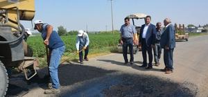 Kırsal Yollarda Onarım Çalışmaları Devam Ediyor