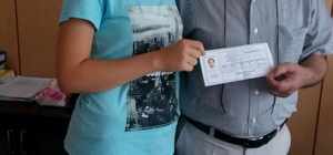 Çinli öğrenci Mijiti Balıkesir'e veda etti