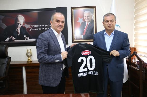 """Başkan Gürlesin: """"Denizlispor Süper Lig'e yakışır"""""""