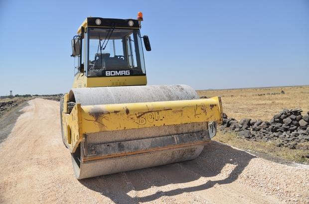 Çınar ilçesinde kırsal mahalle yolları asfaltlandı