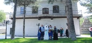 Talas'ın nostaljik nikah salonu hizmete hazır