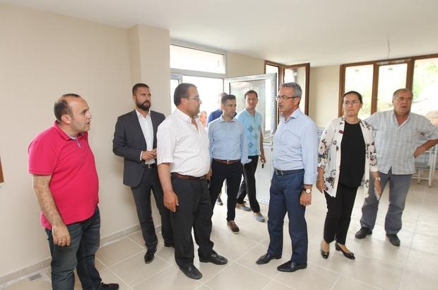 Başkan Köşker yeni mahalleleri denetledi
