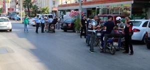 Antalya'da motosiklet denetimi