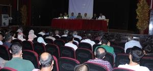 Servis sürücüleriyle toplantı düzenlendi