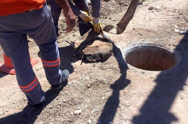 Kanalizasyon kollektor hatlarının temizlik ve bakımı