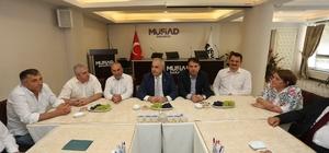 Başkan Kösemusul ziyaretlerini sürdürüyor