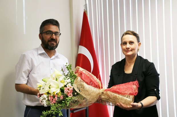 KBÜ Fen Bilimleri Enstitüsü'nde devir teslim töreni yapıldı