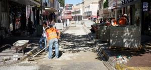 Gölebatmaz Caddesinde bakım onarım çalışması yapıldı