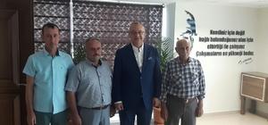 Başkan Ergün, şehit ailesini ağırladı